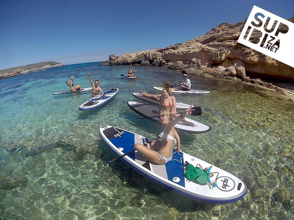paddle surf trips SUP IBIZA
